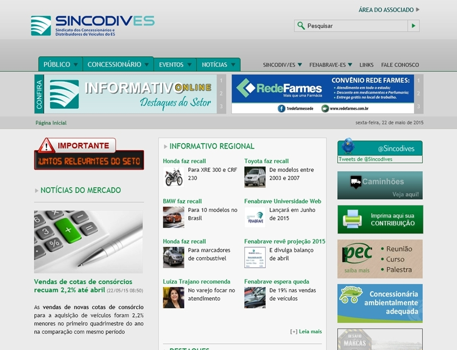 Criação de sites - Sincodives